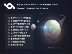 <strong>系统之家 GHOST WIN7 SP1 32位旗舰纯净版 2016.04</strong>
